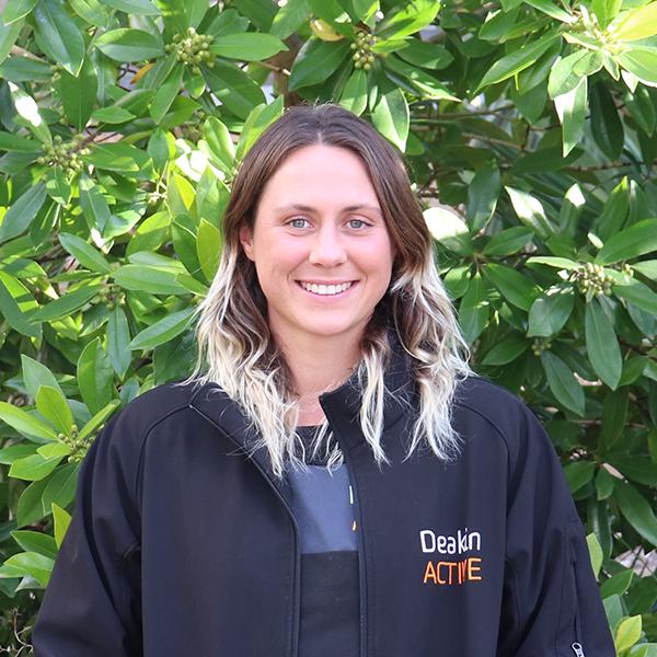 Felicity Draper DeakinACTIVE Waurn Ponds trainer