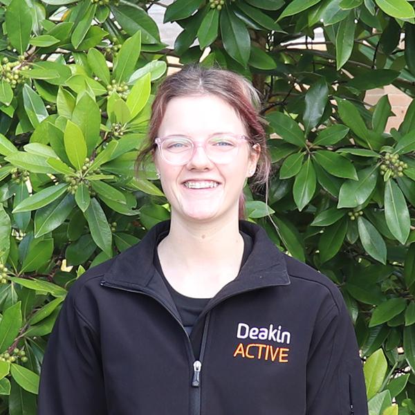Rosie Semmler DeakinACTIVE Waurn Ponds trainer