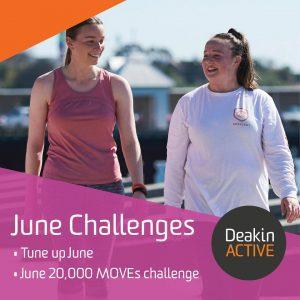 DeakinMOVES June Challenges