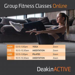 DeakinACTIVE group fitness classes