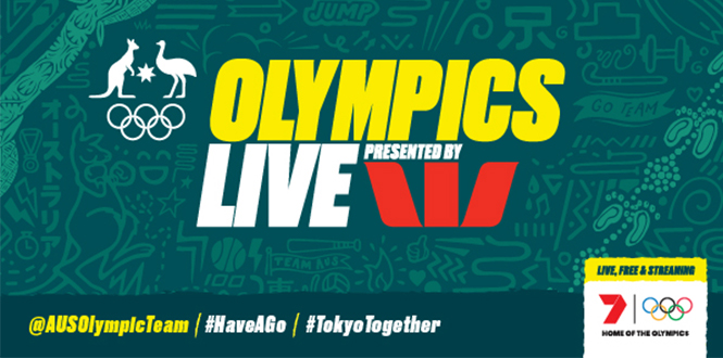 Tokyo Olympics banner