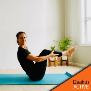 DeakinACTIVE Online Pilates