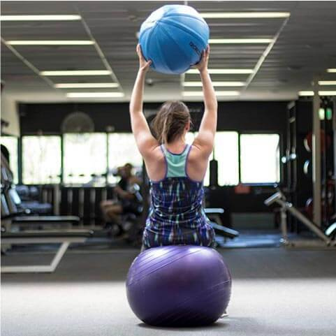 Workout in the gym and fitness facilities
