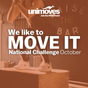 DeakinMOVES MOVE IT October National Challenge